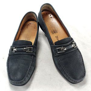 Mephisto Cool Air Genuine Leather Slip On Loafers